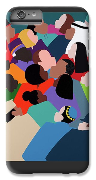 iPhone 6 Plus Case - First Family The Obamas by Synthia SAINT JAMES