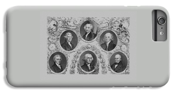 Thomas Jefferson iPhone 6 Plus Case - First Six U.s. Presidents by War Is Hell Store