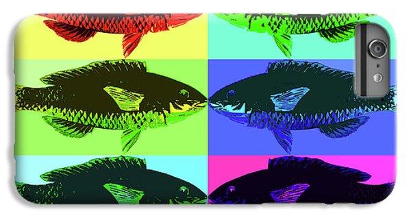 IPhone 6 Plus Case featuring the digital art Fish Dinner Pop Art by Nancy Merkle