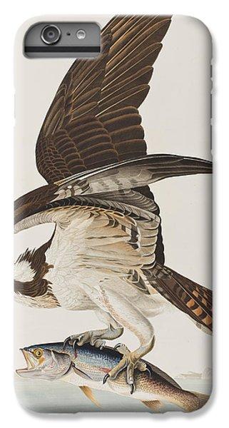 Osprey iPhone 6 Plus Case - Fish Hawk Or Osprey by John James Audubon