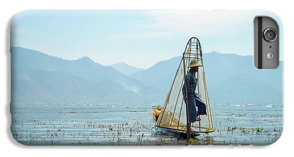 Burmese Python iPhone 6 Plus Case - Fisherman by Delphimages Photo Creations