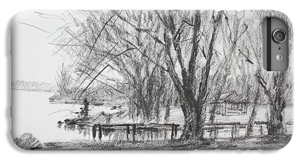 Nature iPhone 6 Plus Case - Fisherman's Park by Ylli Haruni