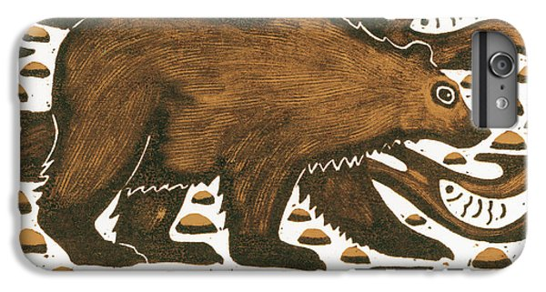 Fishing Bear IPhone 6 Plus Case