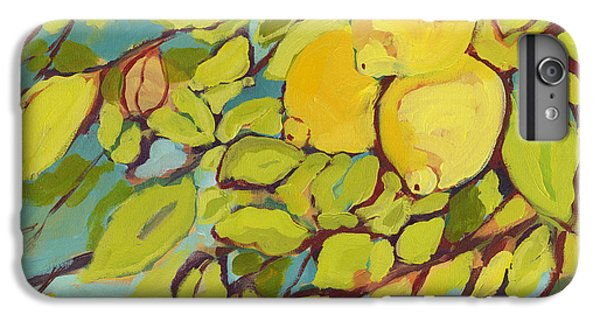 Fruit iPhone 6 Plus Case - Five Lemons by Jennifer Lommers