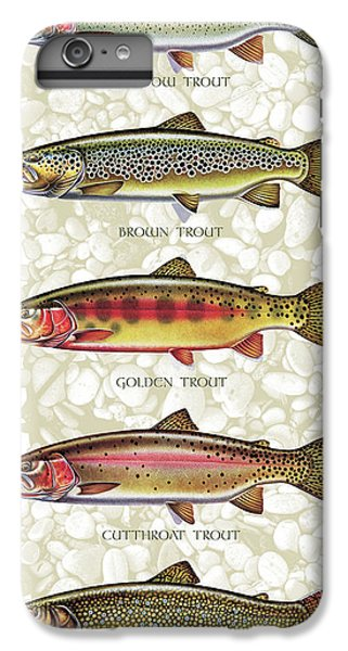 Five Trout Panel IPhone 6 Plus Case by JQ Licensing
