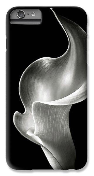 Lily iPhone 6 Plus Case - Flame Calla Lily In Black And White by Endre Balogh