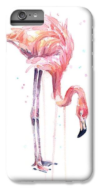Flamingo Painting Watercolor IPhone 6 Plus Case