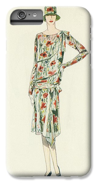 Flapper In An Afternoon Dress IPhone 6 Plus Case by American School