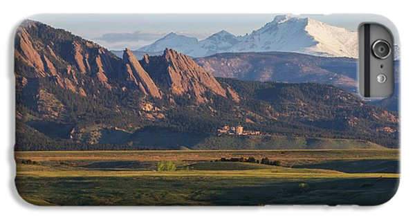 Flatirons And Longs Peak IPhone 6 Plus Case