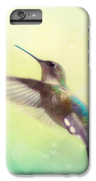 Flight Of Fancy - Square Version IPhone 6 Plus Case by Amy Tyler