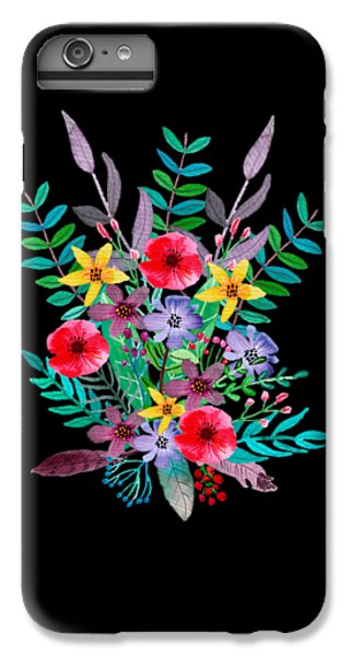 Flowers iPhone 6 Plus Case - Just Flora by Amanda Lakey