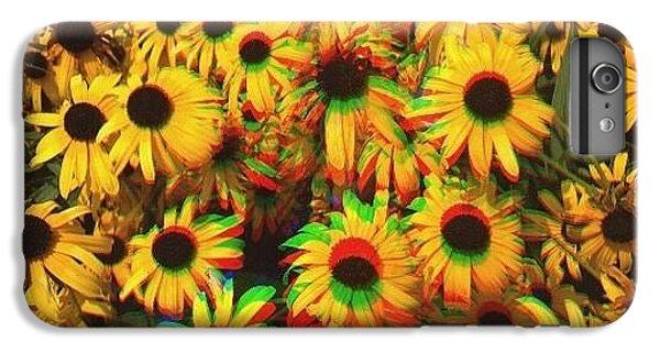 Edit iPhone 6 Plus Case - Flower Trip by Annie Walczyk