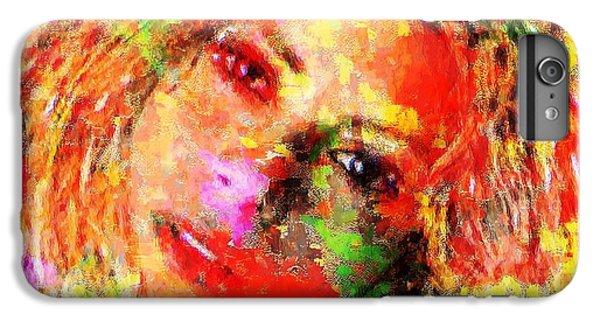 Shakira iPhone 6 Plus Case - Flowery Shakira by Navo Art