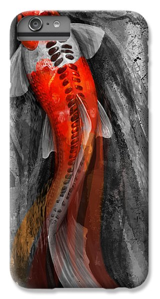 Flowing Koi IPhone 6 Plus Case by Steve Goad