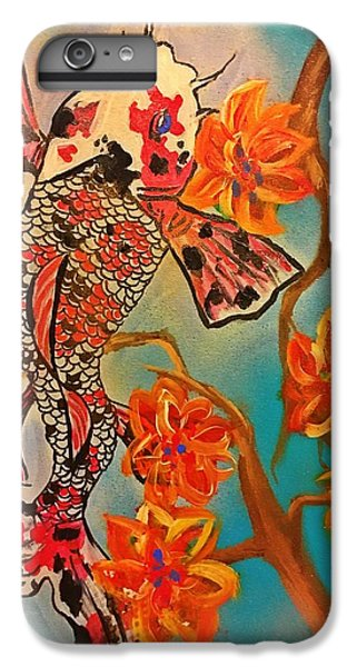 Focus Flower  IPhone 6 Plus Case by Miriam Moran