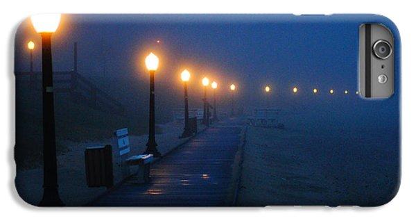 Foggy Boardwalk Blues IPhone 6 Plus Case by Bill Pevlor