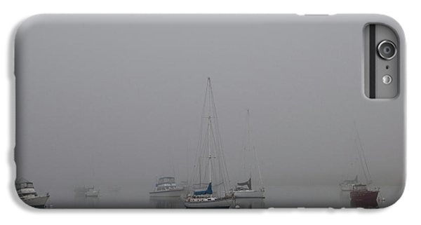 IPhone 6 Plus Case featuring the photograph Waiting Out The Fog by David Chandler