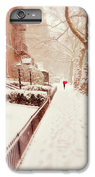 IPhone 6 Plus Case featuring the photograph The Red Umbrella by Jessica Jenney