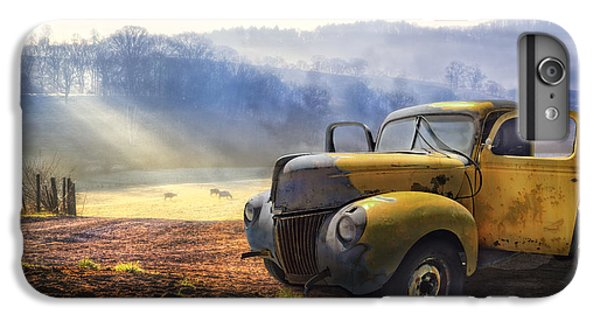 Ford In The Fog IPhone 6 Plus Case by Debra and Dave Vanderlaan