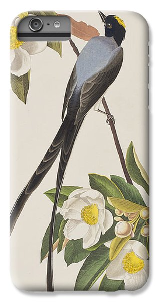 Fork-tailed Flycatcher  IPhone 6 Plus Case by John James Audubon