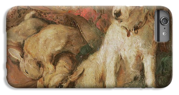 Fox Terrier With The Day's Bag IPhone 6 Plus Case by English School
