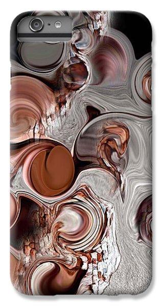 IPhone 6 Plus Case featuring the digital art Fragment Of Modern Contrast by Carmen Fine Art