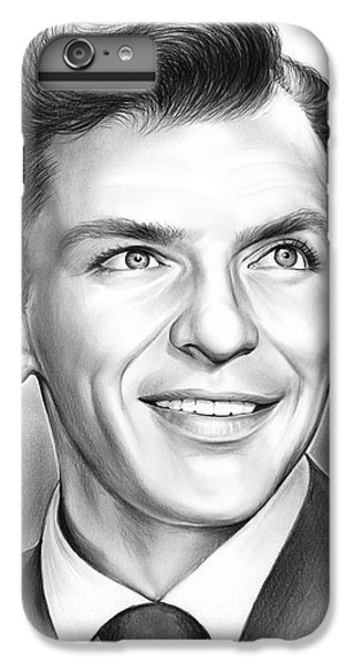 Frank Sinatra IPhone 6 Plus Case by Greg Joens