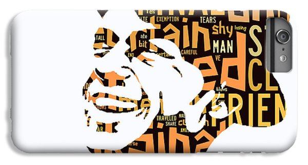 Frank Sinatra I Did It My Way IPhone 6 Plus Case by Marvin Blaine
