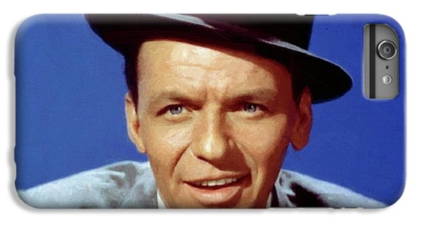 iPhone 6 Plus Case - Frank Sinatra Poster by Frank Sinatra
