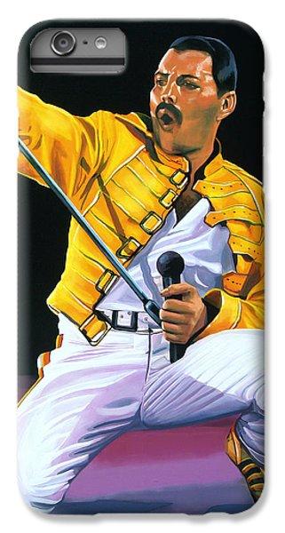 Freddie Mercury Live IPhone 6 Plus Case by Paul Meijering