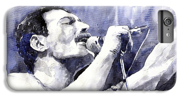 Figurative iPhone 6 Plus Case - Freddie Mercury by Yuriy Shevchuk