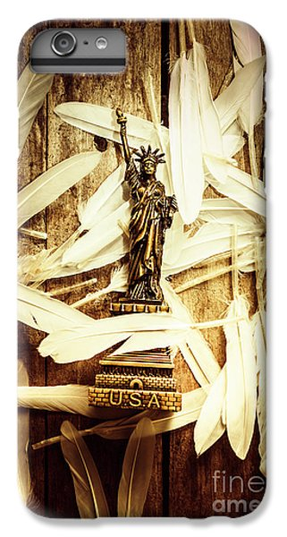 Dove iPhone 6 Plus Case - Freedom And Independence by Jorgo Photography - Wall Art Gallery