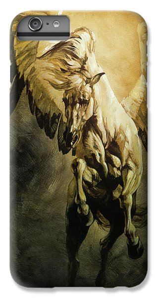 Pegasus iPhone 6 Plus Case - Freedom by Heather Theurer