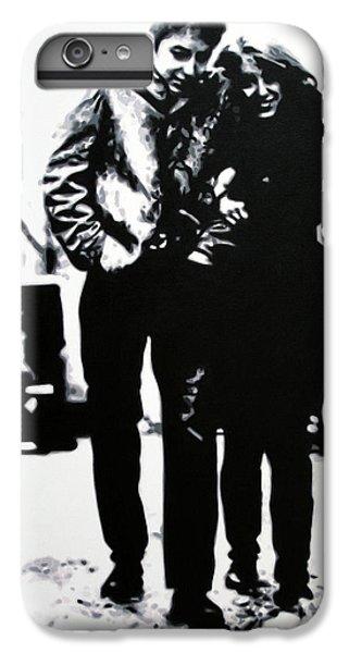 Bob Dylan iPhone 6 Plus Case - Freewheelin by Hood alias Ludzska