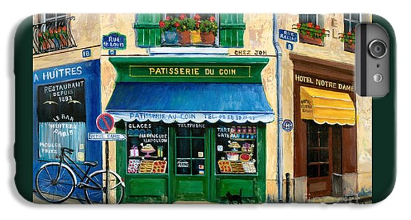 French Pastry Shop IPhone 6 Plus Case