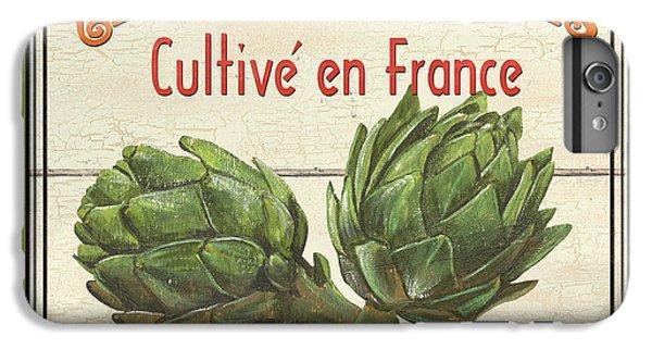 Artichoke iPhone 6 Plus Case - French Vegetable Sign 2 by Debbie DeWitt