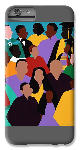 iPhone 6 Plus Case - From Our Founding To Our Future by Synthia SAINT JAMES