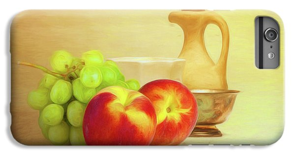 Fruit And Dishware Still Life IPhone 6 Plus Case