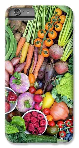 Fruit And Veg IPhone 6 Plus Case by Tim Gainey