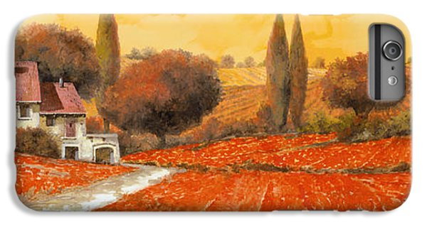 Landscape iPhone 6 Plus Case - fuoco di Toscana by Guido Borelli
