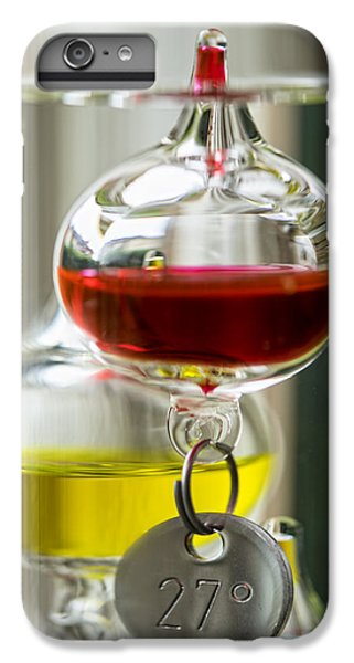 IPhone 6 Plus Case featuring the photograph Galileo Thermometer by Jeremy Lavender Photography