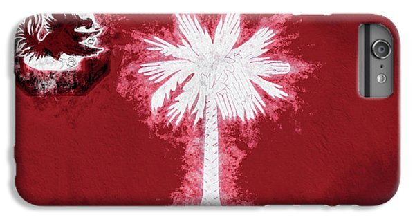 IPhone 6 Plus Case featuring the digital art Gamecocks South Carolina State Flag by JC Findley