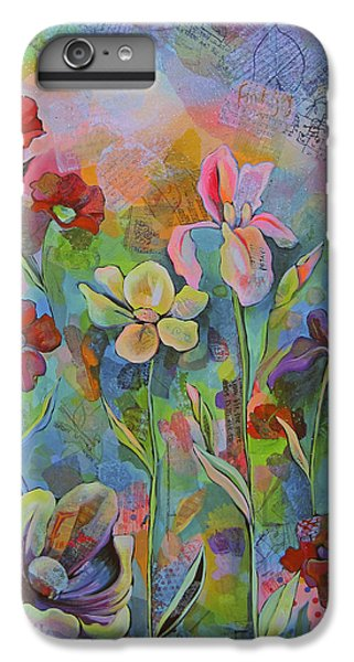 Garden Of Intention - Triptych Center Panel IPhone 6 Plus Case by Shadia Derbyshire