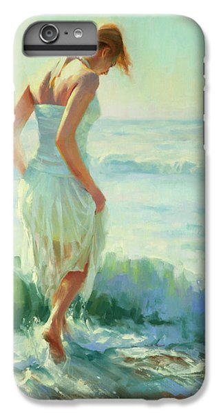 Strawberry iPhone 6 Plus Case - Gathering Thoughts by Steve Henderson