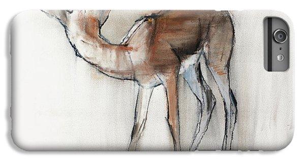 Gazelle Fawn  Arabian Gazelle IPhone 6 Plus Case by Mark Adlington