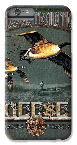 Geese iPhone 6 Plus Case - Geese Traditions by JQ Licensing