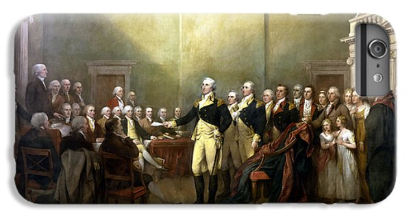 General Washington Resigning His Commission IPhone 6 Plus Case by War Is Hell Store