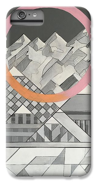 Geometry's Mountain IPhone 6 Plus Case by Sara Cannon