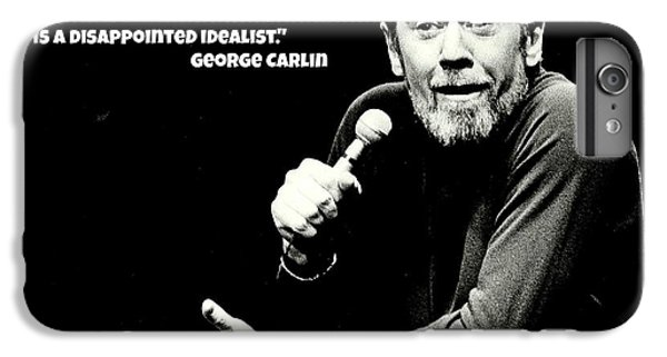 George Carlin Art  IPhone 6 Plus Case by Pd