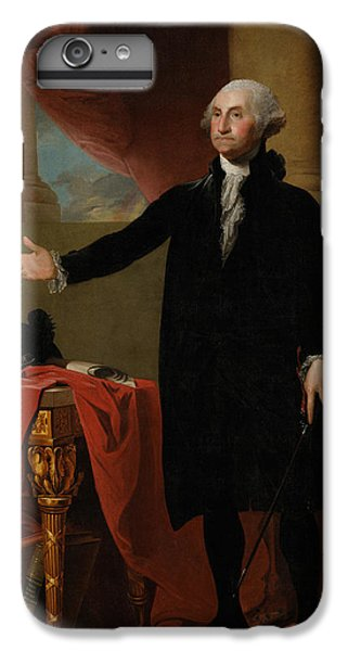 Portraits iPhone 6 Plus Case - George Washington Lansdowne Portrait by War Is Hell Store